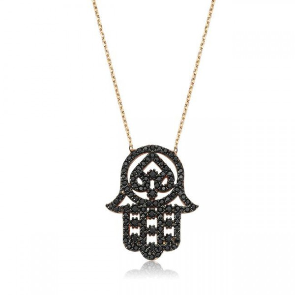 hamsa, evil eye, necklace, earrings
