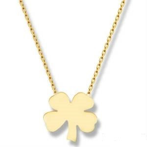 18k gold plated clover Neclace,silver clover necklace, four leaf necklace,gold four leaf necklace,silver clover necklace.