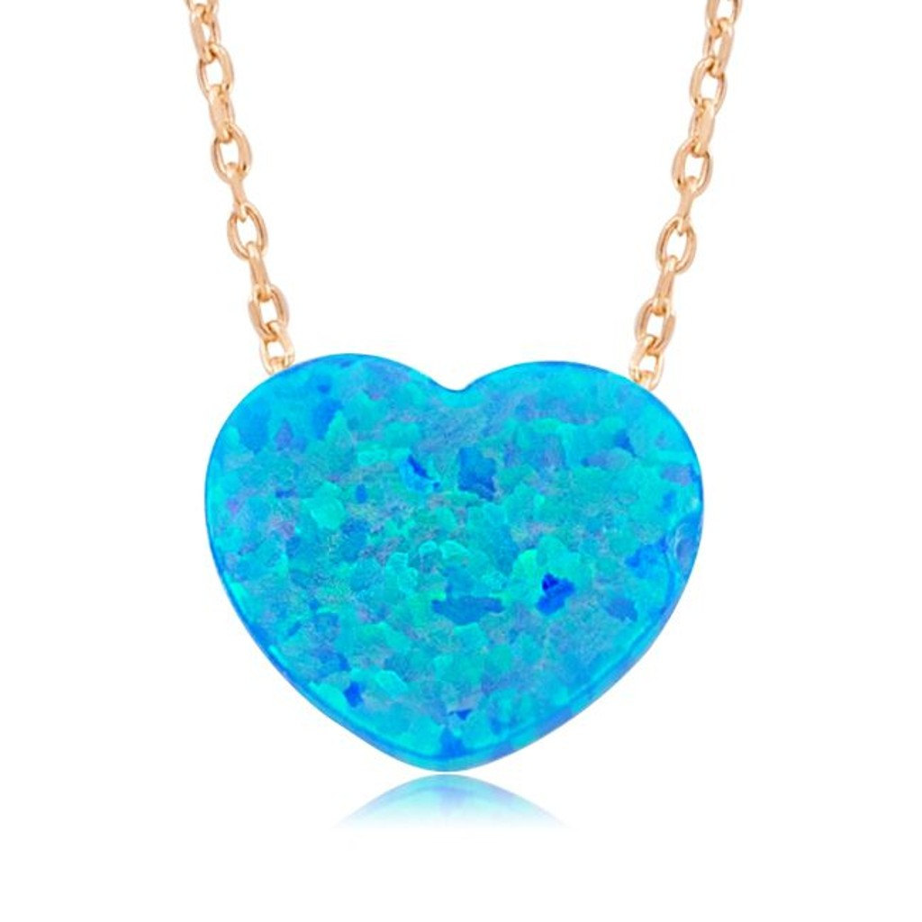 choose jewelry how opal pendant blue auctions to learn