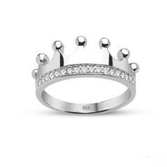 "Crown Ring""Queen ring, prencess ring, her ring, his ring"