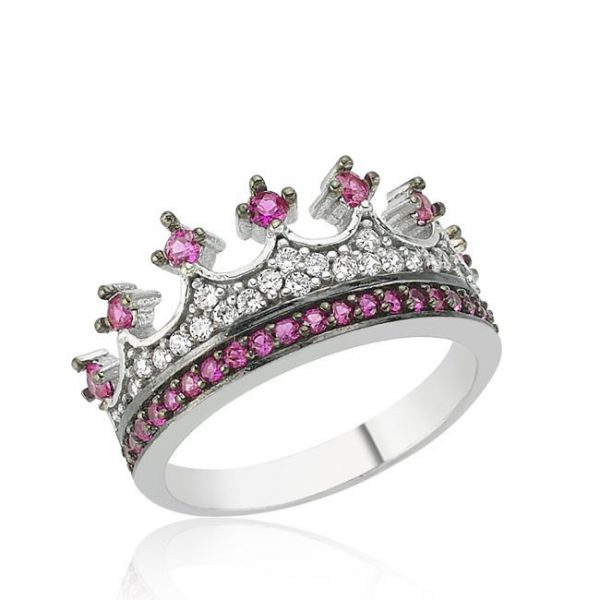 "Crown Ring""Queen ring, prencess ring, her ring, his ring,crown ring set, gold crown ring, silver crown ring"