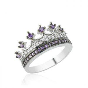 Crown Ring,Queen ring, prencess ring, tiara princess ring,her ring, his ring
