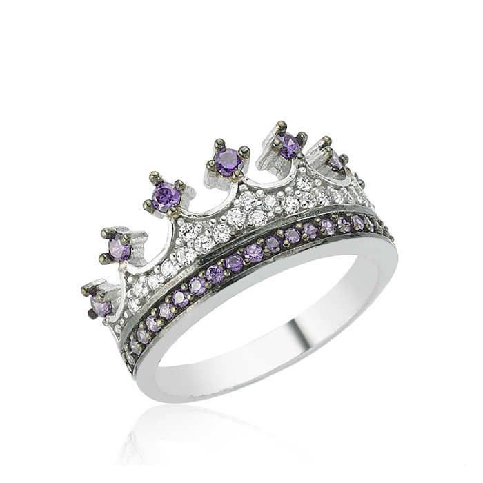 Crown Ring,Queen ring, prencess ring, tiara princess ring,her ring, his ring