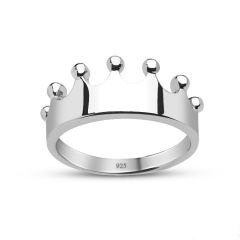 Crown Rings,silver crown rings,gold crown ring,crown ring for him,his ring,crown promise rings for him,king rings
