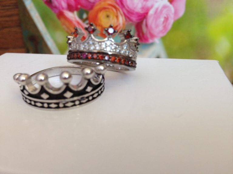 King & Queen ring, crown ring set,gold crown ring,925k silver decorated with high quality zircon as a set,promise rings